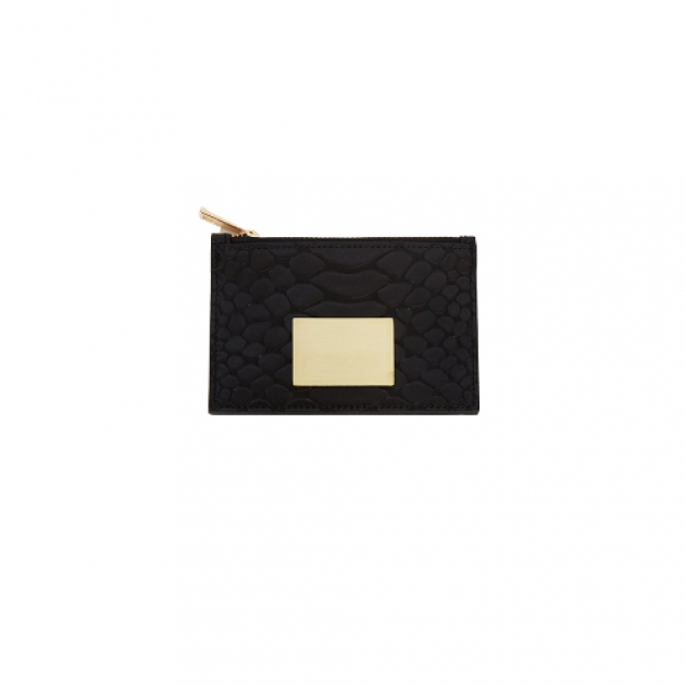 [MORDERNIQUE]<br>Margaret Card Wallet Black